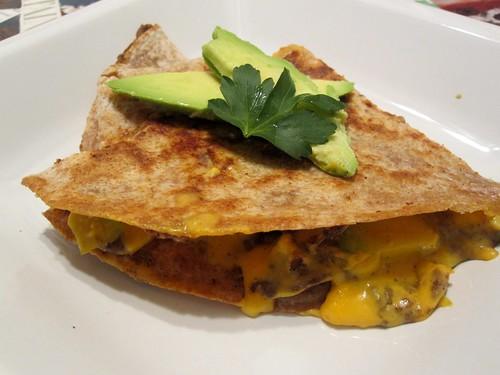 nacho teese quesdadilla