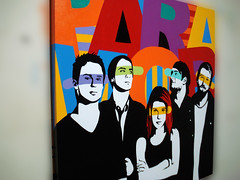 Paramore | Pop Art (Lobo - Pop Art) Tags: colors brasil fun happy sopaulo band canvas popart paramore joshfarro hayleywilliams jeremydavis zacfarro tayloryork lobopopart