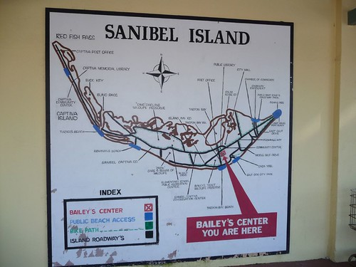 map of sanibel island.