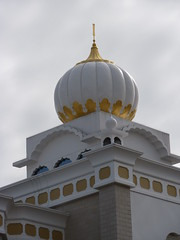 Minaret (lydia_shiningbrightly) Tags: uk england architecture temple worship minaret religion leamington sikh sahib gurdwara warwick westmidlands