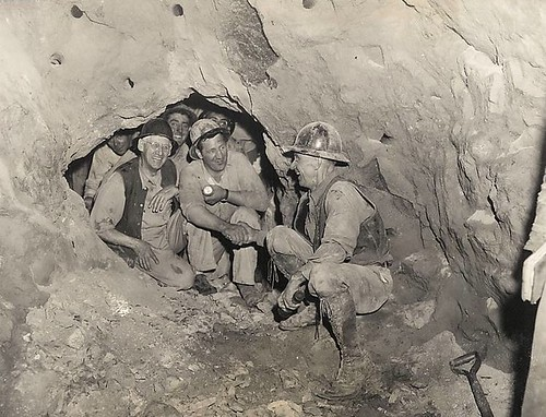 Brooklyn Battery Tunnel Crews Meet 1948