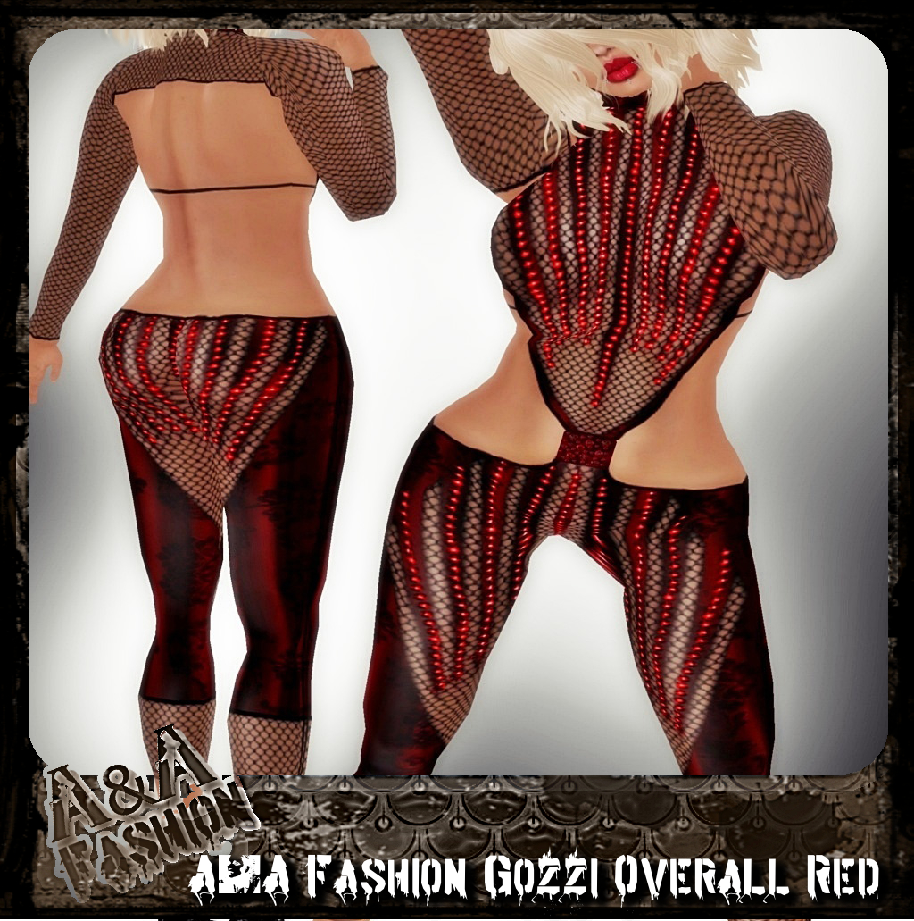 A&A Fashion Gozzi Overall red