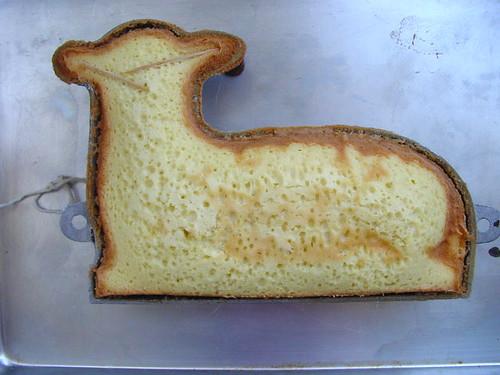baked lamb cake