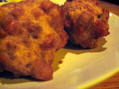sauced restaurant - more black-eyed pea fritters