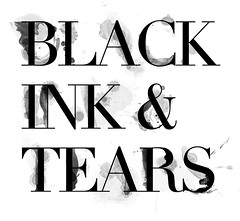 Expression (miss miah) Tags: black wet ink typography stained didot