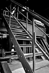 Stairway to... (GelsenBuer) Tags: stairs essen stair stairway treppe zollverein zeche zechezollverein worldheritage weltkulturerbe treppen treppenstufen metallleiter