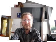 Atoportrait - Self-portrait - panography (ckwww) Tags: collage autoportrait mosaic photomontage davidhockney hockney photocollage inkscape panography joiners panograph hockneyesque panographie panografias tz5