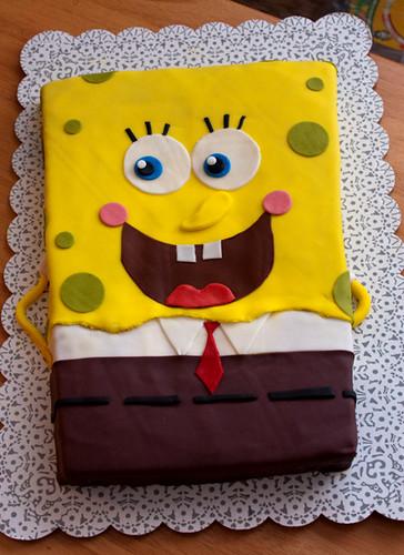 Spongebob Cake-1