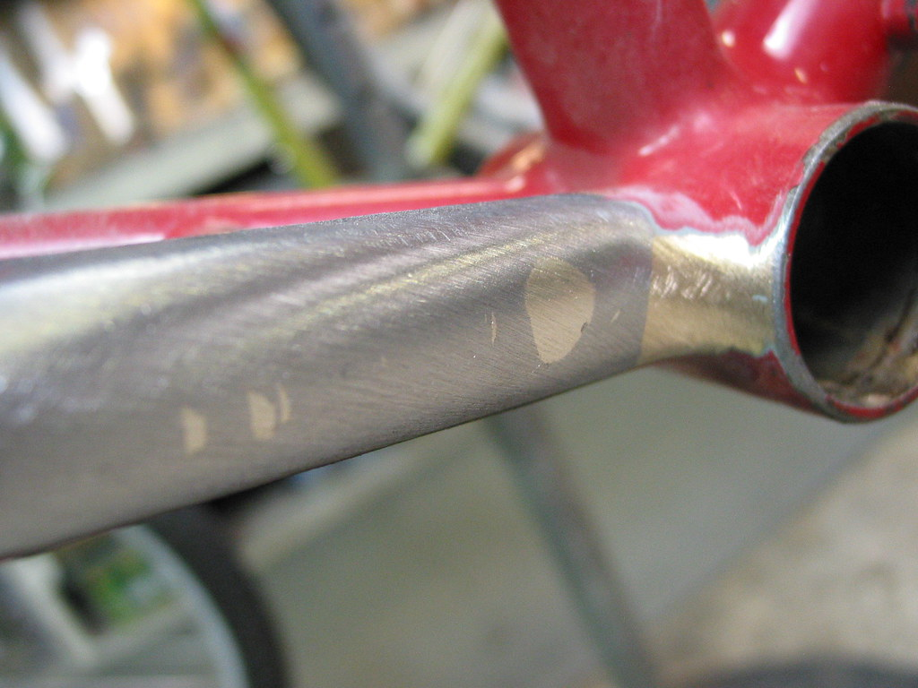 Potts repair chainstay