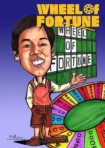 Wheel of Fortune caricature(edited)