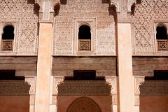 Ben Youssef Madrasa, Marrakech, Maroc (Morocco) (Loc BROHARD) Tags: africa madrasah mosque morocco berber maroc marrakech maghreb souk marrakesh madrassa souq menara riad koutoubia marrakesch westernsahara mdina gueliz djemaaelfna redcity medrese  madarsa saadiantombs medresa benyoussefmadrassa  madraza babagnaou marake madarasaa almarib  murakush