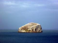 Bass Rock desde el castillo