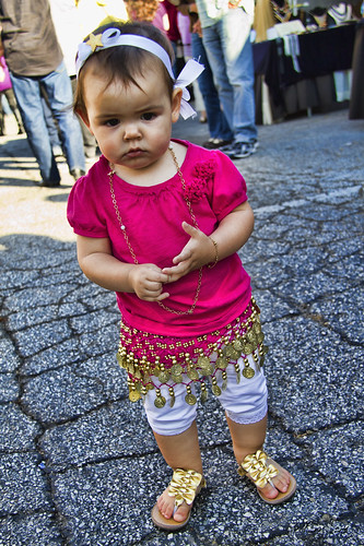 Greek Festival toddler