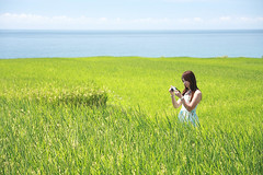 (nodie26) Tags: ocean life blue sea portrait people water girl tour taiwan oceans  hualien        greeb                11