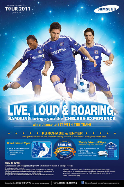 Win Tickets To Watch Malaysia XI vs Chelsea Match Live