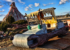 Bedrock (CNRog) Tags: park city arizona volcano grand canyon fred theme flintstones bedrock pterodactyl