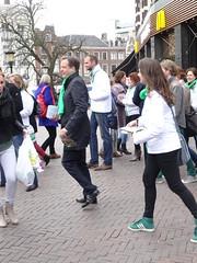 Alexander Pechtold in Utrecht (harry_nl) Tags: netherlands utrecht nederland alexander elections campagne municipal verkiezingen d66 gemeenteraad towncouncil 2014 pechtold