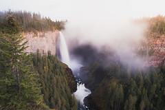 Helmcken Fall, Canada (Sunny Herzinger) Tags: waterfall sunset fujixpro2 bc landscape britishcolumbia travel xf14mmf28 thompsonnicolaa canada ca