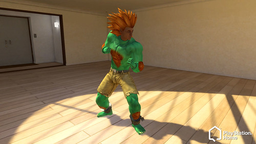 PS Home Blanka Costume