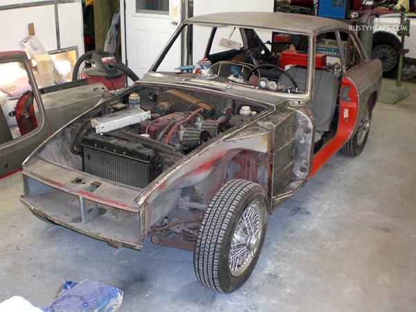 1967 MGB GT project