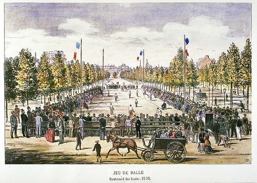 018- Juego de pelota 1892-Collectionneur lillois Edouard Boldoduc  1895