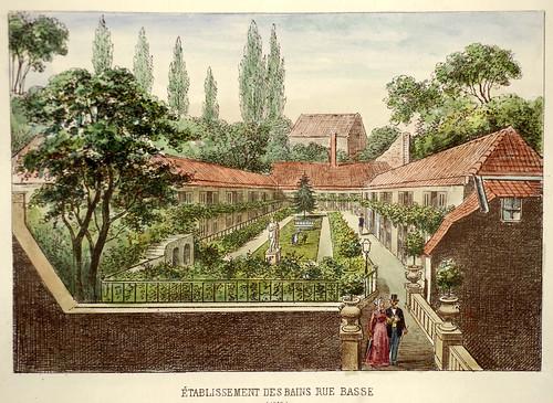 005-Establecimiento de Baños en la calle Baja-Lille ancien monumental Edouard Boldoduc  1893