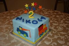 Truck Birthday Cake (irresistibledesserts) Tags: birthday blue boy cake truck