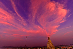 When the Gods light up the Sky it .. shows (Mimor) Tags: street travel copyright india expedition canon spectacular landscape photography scenery mine hiking exotic danny dslr