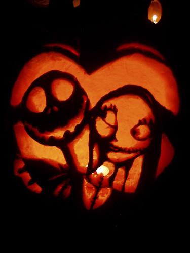 calabaza Jack y Sally