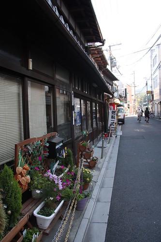 町家の通り