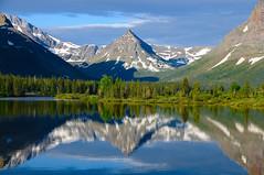Painted Teepee Peak (Phil's Pixels) Tags: montana lakes explore peaks reflexions soe glacierpark twomedicine scenicsnotjustlandscapes bestofmywinners paintedteepeepeak reflectionsdawn