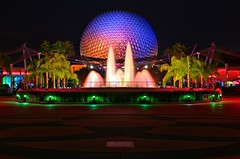 All Alone in Epcot (Explored)