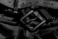 out.too.late (scottcheloha) Tags: shadow bw white black up closeup delete10 delete9 delete5 delete2 belt close pants stitch delete6 delete7 save3 delete8 delete3 delete delete4 save save2 jeans trousers fold buckle crease wrinkle rumple
