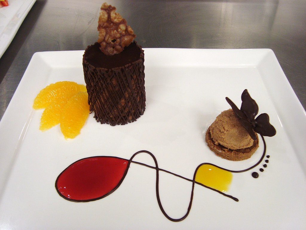 Chocolate Marquis plating