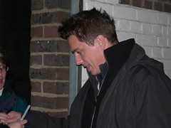 John Barrowman @ Stage Door (@just_michaelaa) Tags: london westend embankment lacageauxfolles playhousetheatre johnbarrowman