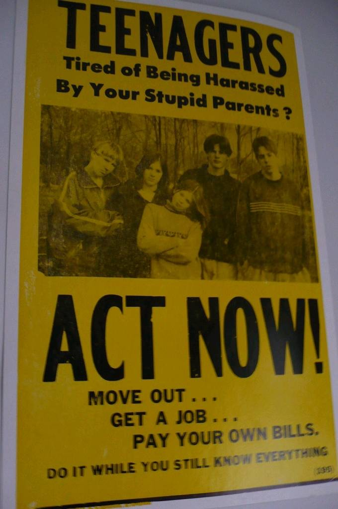 Teenagers Act Now poster
