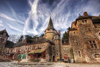 Eyne Burg Belgien