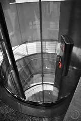 Glass Elevator (RTz13) Tags: red glass nikon elevator kit d90 18105mm klcseyconventioncentre klcseykonferenciakzpont