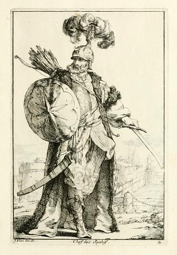 003- Jefe de los Spahis-Caravanne du sultan ala Mecque…1748- Joseph Vien