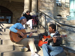 DSCF1208 (chicabrandita) Tags: ohio campus guitar steps players wilder oberlin oberlincollege