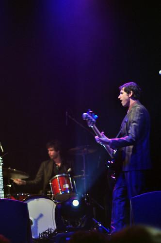 Peter Hughes + drummer
