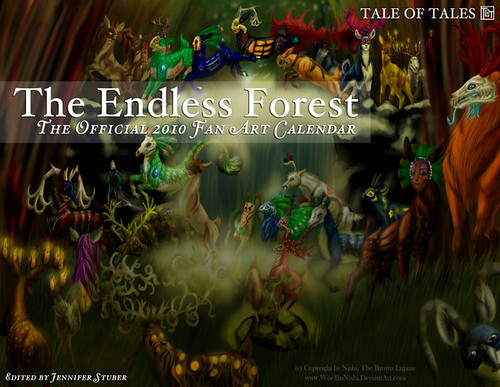 TEF - 2010 Fan Art Calendar