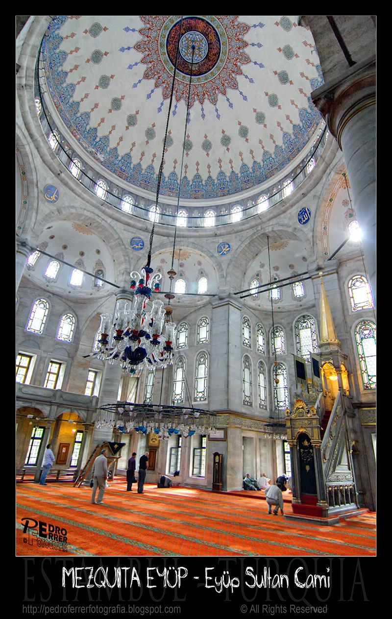 Sultan Eyüp Camii - Dome