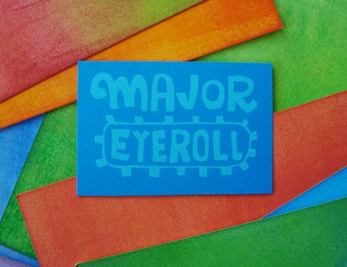 major-eyeroll