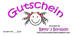 GUTSCHEIN - BETTY´S BORDADO