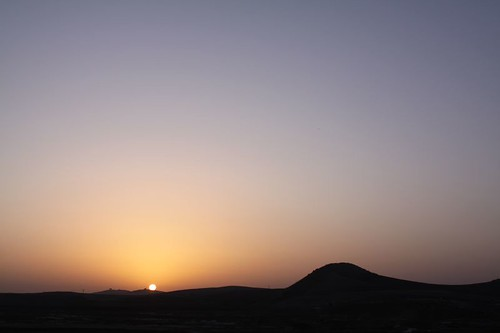 Sunrise over northern Morocco...