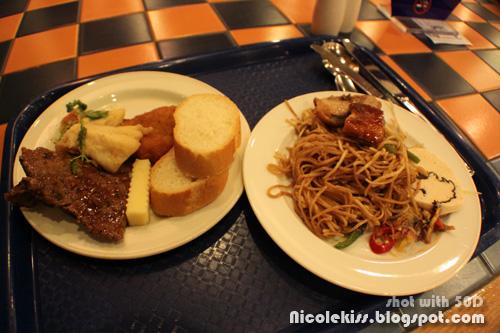 dinner serving 1