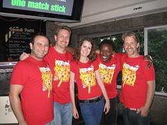Eric, Charlton, Telana, Mongezi and Adin