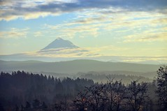 No Wind today, yeah. (Gigapic) Tags: park mountain oregon sunrise landscape mt hero winner hood d90 photoscape
