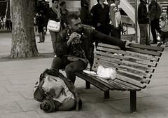 Rebels need breakfast too ! (Pierre Mallien) Tags: street uk wedding england people urban en food man guy london breakfast canon eos rebel mono photo raw belgique image britain pierre candid stage tag explorer streetphotography pit southbank explore eat agency londres metropolis streetphoto mariage pour gens tinker perfecto photographe tous streetphotographer photoderue relooking streetstyle streetphotograph coolhunters photographiederue 40d rawstreet modedelarue photographemariage photographederue pitvanmeeffe stylehunter mallien pierremallien streetstylers pierremallienphotographe modereportagereportage mariageeventsevenementielsagencemannequinorganisation evenementssocitjennyferconseil pitvanmeeffeandlookyouagency designinfluencers chasseurdelook photodelarue rechercheunphotographemariage stagephotobelgique walloniestage lemeilleurphotographedemariagedebelgique